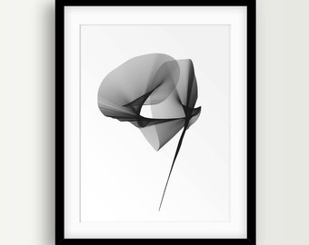 Abstract Art, Abstract Painting, Black and White Decor, Modern Wall Art, Modern Poster, Printable Artwork, Contemporary Prints, Art