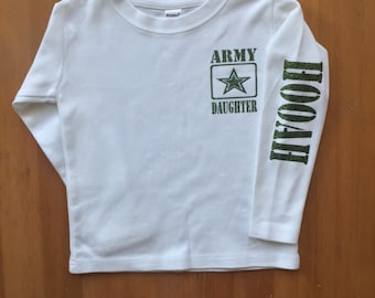 Army Daughter, Army Son, Army Brat, Army Niece, Army Nephew, Army Kid, Army Shirt, Army