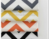 Wave Fabric, Classic Large Waves Cotton Canvas Quilting Fabric, Navy Nautical Fabric,Waved Stripe Fabric Supplies (JJ40)