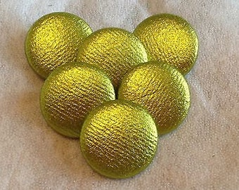Lime, Green Buttons, Lycra Buttons, Fabric Covered Buttons, Shank Buttons, 31mm, Large Buttons, Coat Buttons, Sewing Supplies, Upholstery
