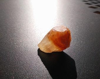 Mediterranean Orange-Brown Calcite Crystal