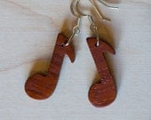African Padauk Earrings