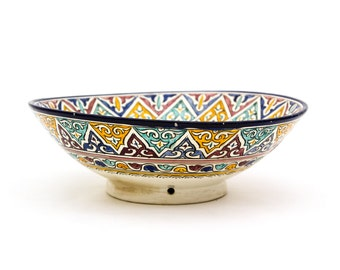 Large Antique Moroccan Bowl