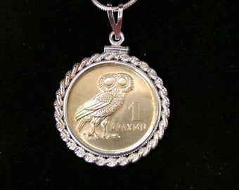 1978 Greek Owl Coin