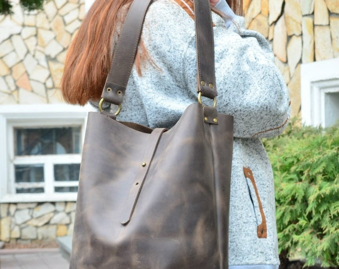 Leather Tote + Leather Crossbody Bag + Leather Bag + Leather Tote Bag + Leather Purse + Leather Handbag + Laptop Bag + Leather Laptop Bag