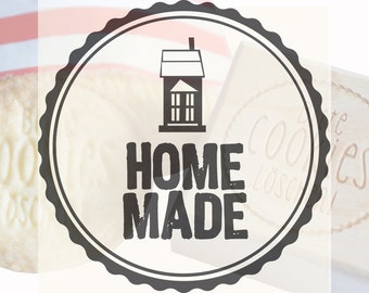 "Cookie stamp ""Home Made"""
