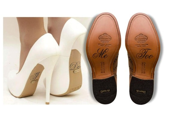 240416bbc Wedding Shoe Decal Shoe Sticker I Do and Me Too Shoe Decal hot sale ...