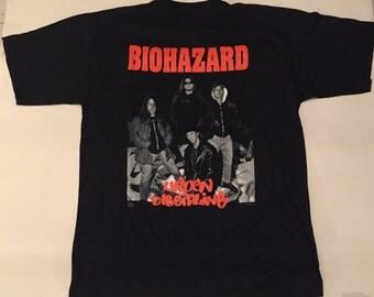 Biohazard vintage shirt