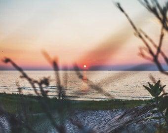 Lake Michigan Sunset Print
