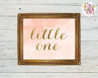 Nursery Little One Print 8 x 10