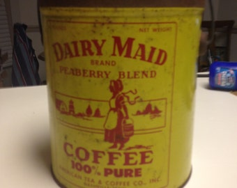 DAIRY MAID Peaberry Blend  COFFEE, Nashville,Tennessee