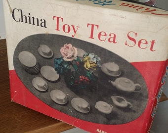 Childs Bone China Tea Set