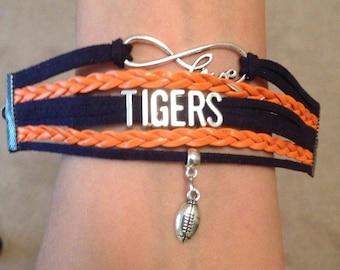 Auburn Tigers Bracelet
