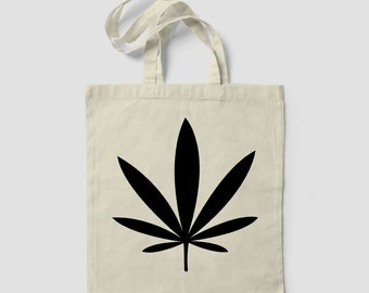 Marijuana Weed LEAF TOTE BAG bag Beach Sun addicted kush pot leaf cannabis
