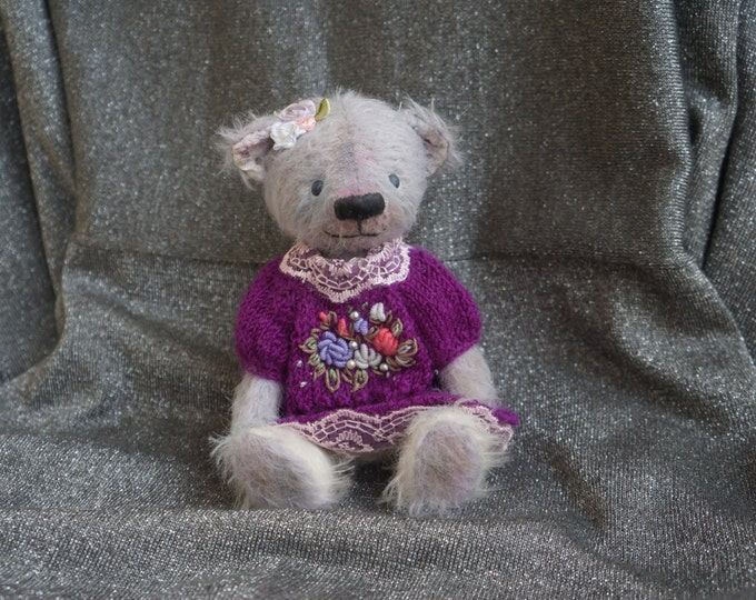 OOAK Earth Angel Bear, Teddy bears, little angel, angel teddy bear, soft toy teddy bear, Teddy Bear artists , OOAK teddy bear with
