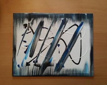 11 x 14 Acrylic on canvas. Original