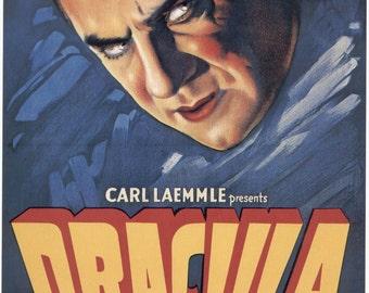 Dracula movie poster 11x17