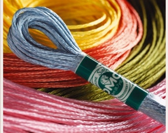 DMC SATIN THREAD Stranded Cotton Embroidery Thread Floss Skein Art 1008F