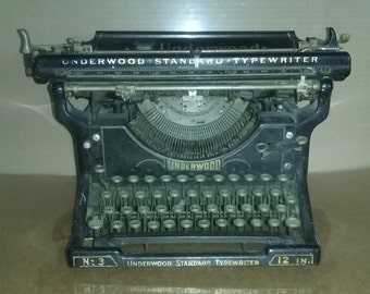 Antique typerwriter, underwood typerwriter, Shabby chic, country cottage, French cottage, wedding decor, photo prop