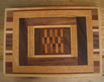 Unique Hardwood Cutting Board