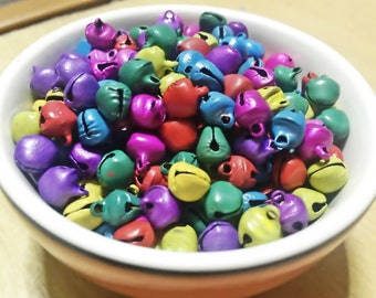 7 mm Mix Color Little Bells