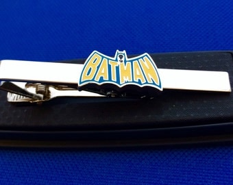 Batman tie bar~Handmade in the USA~FAST Shipping from the USA