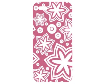 Custom iPhone 5/5s Case - iPhone 4/4s Case - Galaxy S3/S4/S5 Case - PINK FLOWERS