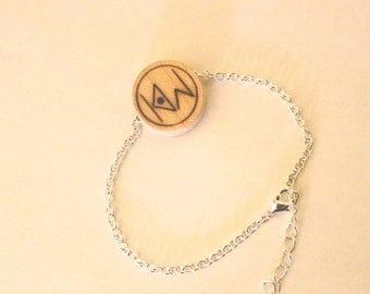 the orginal knock on wood bracelet