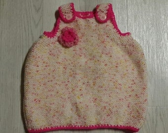 dress baby baby hand knitted and crochet