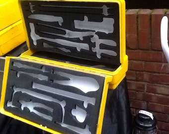 Mod Tool Box With Foam Inserts