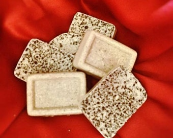 Almond Coffee Oatmeal Soap