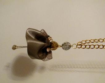 Ballerina charm necklace