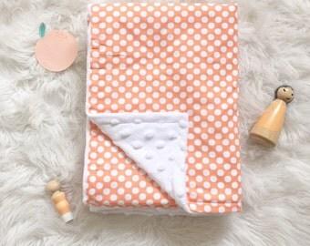 Bassinet/Pram Minky Blanket