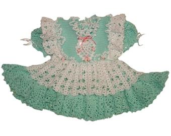 Sweetheart Mint Dress with Matching Bib