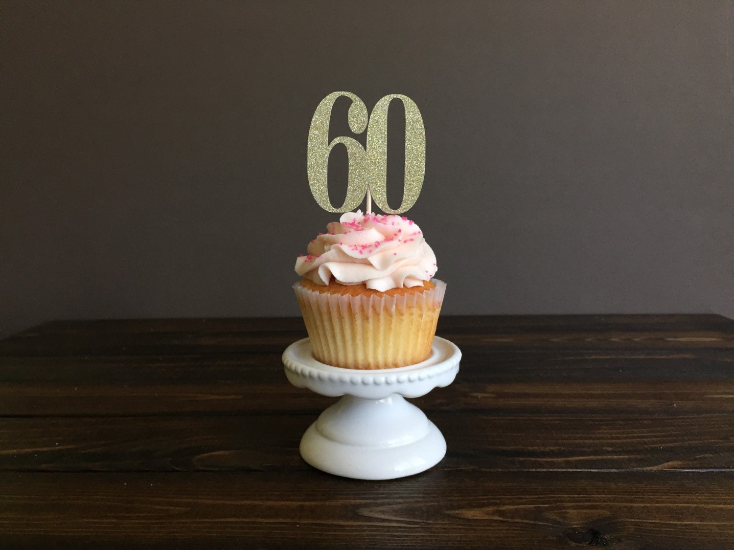 Personalized Number Cupcake Topper Cupcake Topper