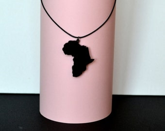 Africa Necklace, African Jewelry, Africa gift, African Necklace