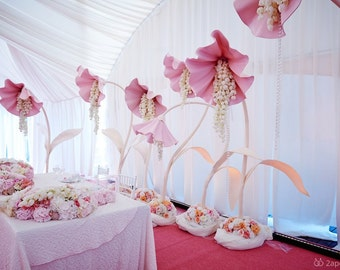 wedding bouquets - Big Bell Flower , Giant Flower - wedding decor