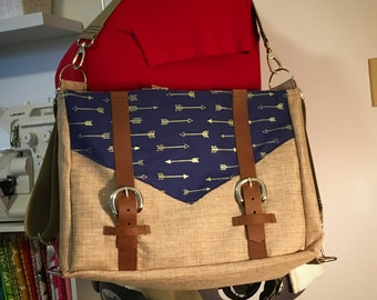 3-Way Convertable Messenger Bag