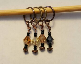 Steampunky Stitch Markers