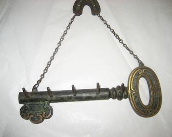 Antique Hanging Key Holder