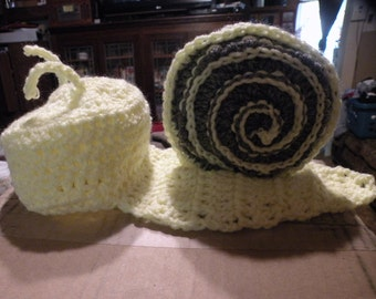 Snail Crochet prop /set