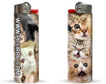 Crazy Cat Lady Edition Lighter by Pic Ur Bic