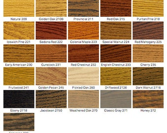 Wood Color Swatch