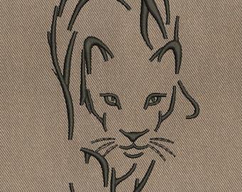 Puma - MACHINE EMBROIDERY DESIGN