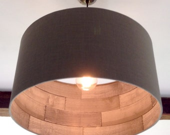 50cm Driftwood Lined  Lampshade