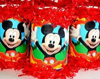 Mini Pinata Party Favors Mickey Mouse Goodie Bags Party Bags Birthday Minnie Mouse