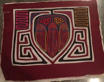 Kuna mola embroidery panama
