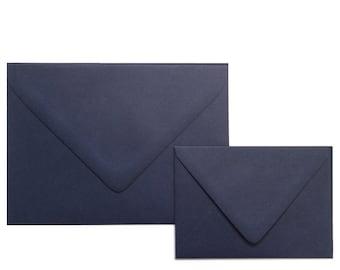 NAVY A7 Envelopes -  Euro Flap