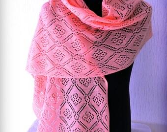 Openwork scarf
