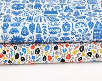Cloud9 Fabrics - Kindred Collection - Fat Quarter or Half Yard Bundle
